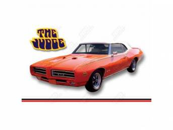 1964-72 GTO Body/Exterior Parts, Glass, Bumpers, & More
