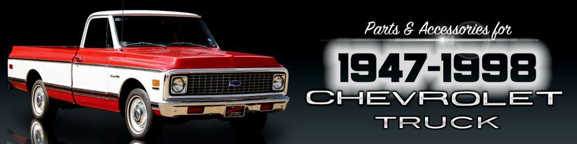 old chevy truck model names