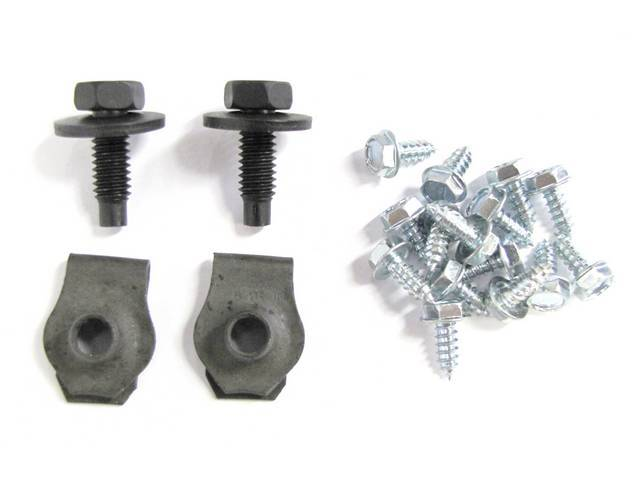 MOUNTING NUTS, Front Spoiler, (19)