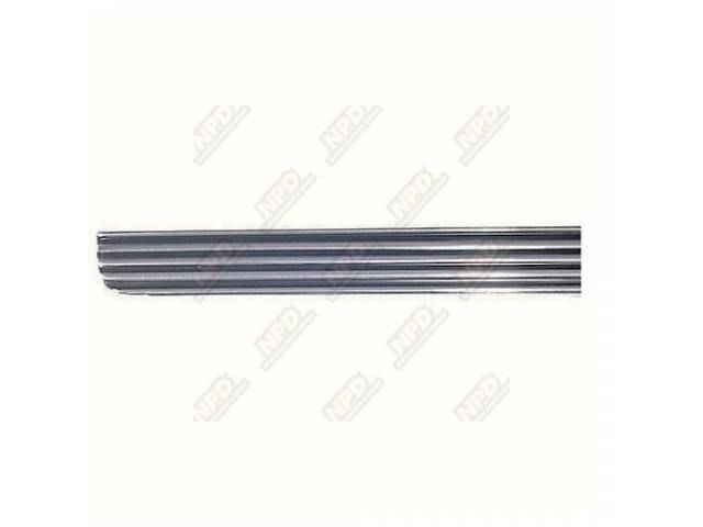 MOLDING Rocker Panel RH repro incl hardware