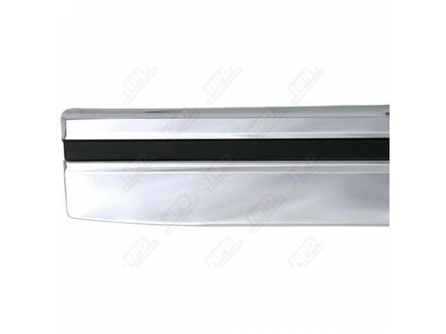 MOLDING ROCKER PANEL RH REPRO INCLUDES HARDWARE