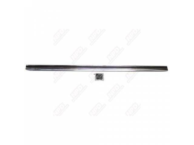 MOLDING ROCKER PANEL LH REPRO INCLUDES HARDWARE