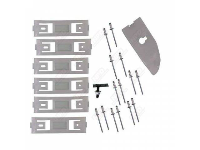 CLIP KIT, ROCKER MOLDING, LH