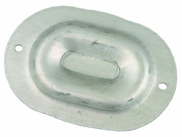 COVER PLATE, FLOOR PAN DRAIN HOLE, SEE ALSO