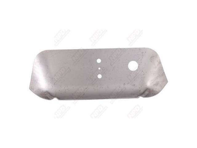 REINFORCEMENT PANEL Floor Pan Muffler Hanger repro RH