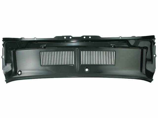 GRILLE PANEL, COWL VENT, UPPER
