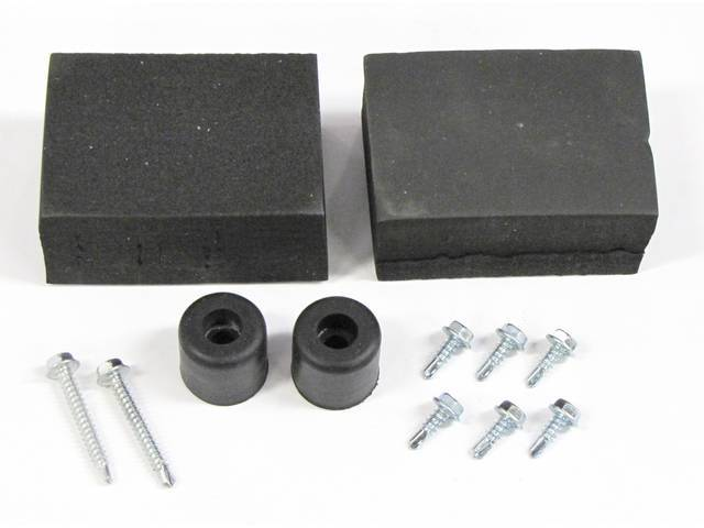 MOUNTING KIT, GRILLE VENT PANEL, OUTER, (12), INCL