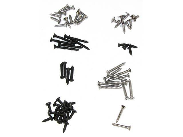 SCREW KIT, INTERIOR TRIM