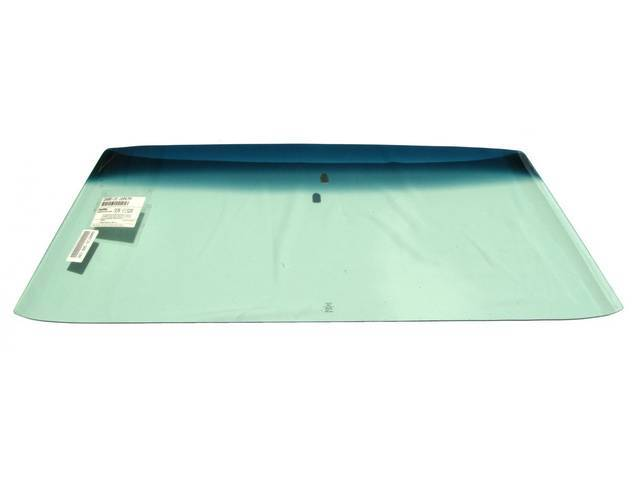 WINDSHIELD, TINTED, CARLITE BRAND WITH FORD OVAL LOGO,