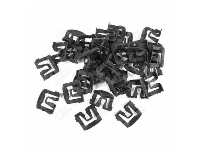 MOUNTING KIT WINDSHIELD MOLDING CLIPS FOR FRONT AND
