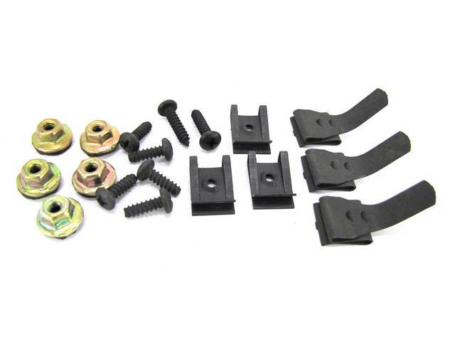 MOUNTING KIT, DASH PAD AND SUPPORT