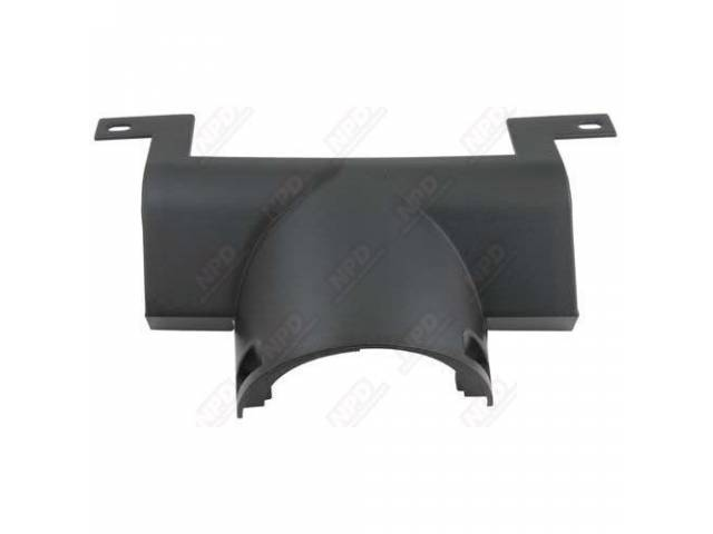 COVER LOWER STEERING COLUMN BLACK