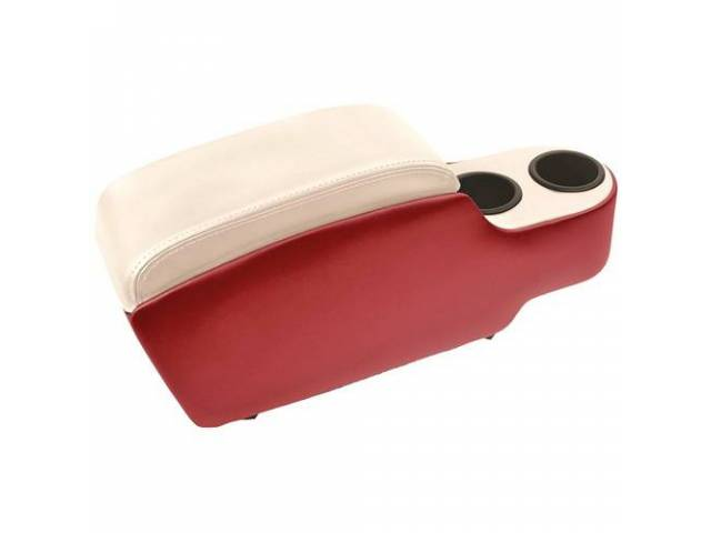 CONSOLE Custom Standard bright red with white two
