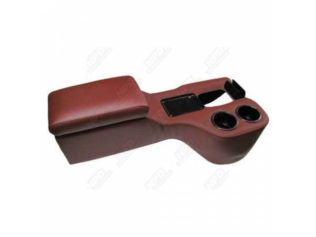 CONSOLE SADDLE CRUISER DARK RED