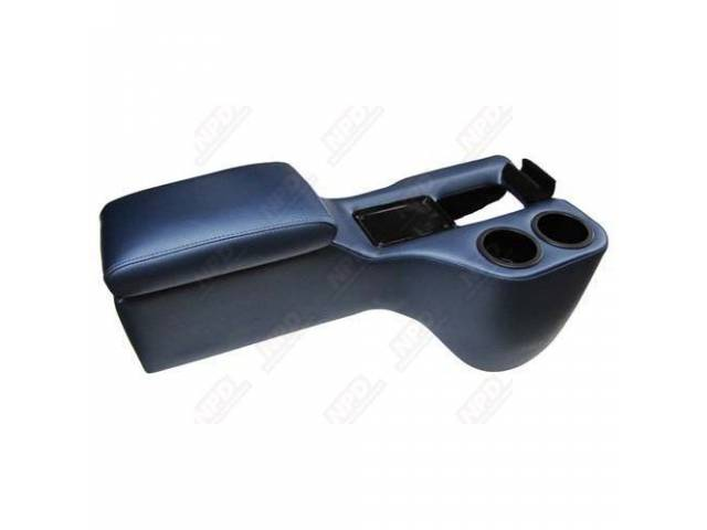 CONSOLE SADDLE CRUISER DARK BLUE