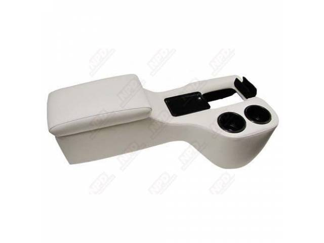 CONSOLE, SADDLE CRUISER, OFF WHITE