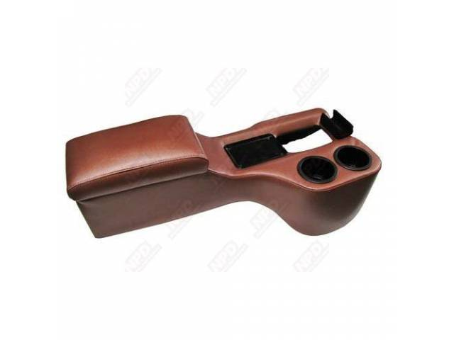 CONSOLE, SADDLE CRUISER, EMBERGLOW This item ships directly