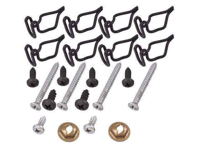 MOUNTING KIT, Console, concours, (26), by AMK Products