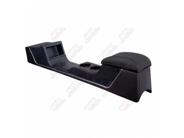 CONSOLE Full Length Sport R matte black vinyl