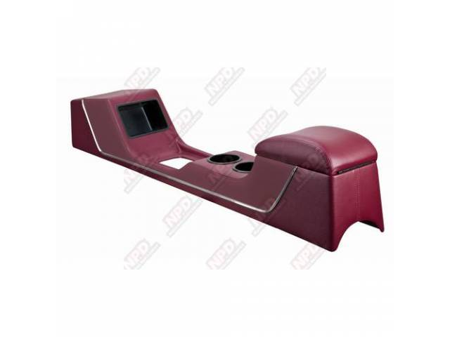 CONSOLE, Full Length, Sport II Standard, red vinyl,