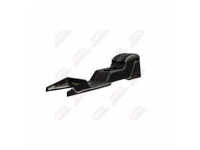 CONSOLE Full Length Sport XR matte black vinyl