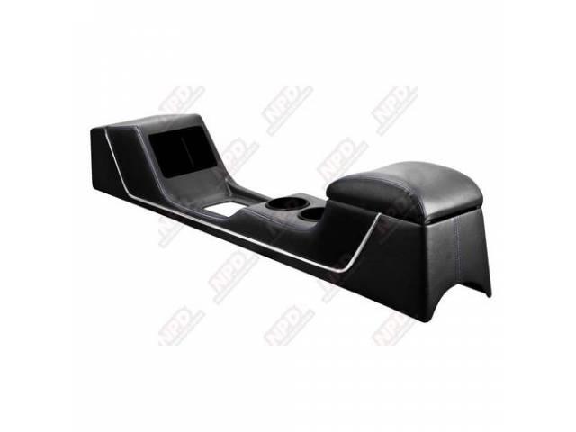 CONSOLE Sport R black glossy vinyl w/ black
