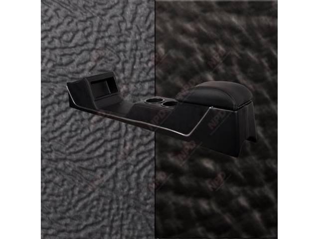 CONSOLE Sport Deluxe black sierra vinyl w/ black