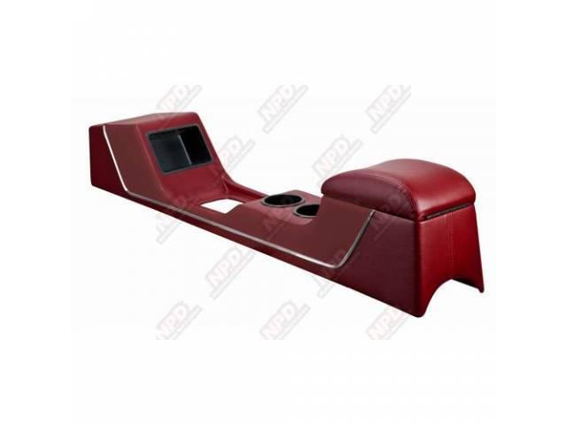 CONSOLE Full Length Sport II dark red vinyl