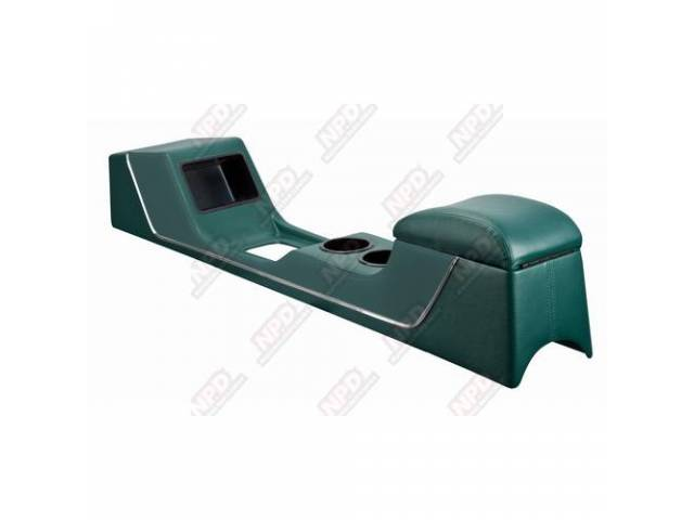 CONSOLE Full Length Sport II dark turquoise vinyl