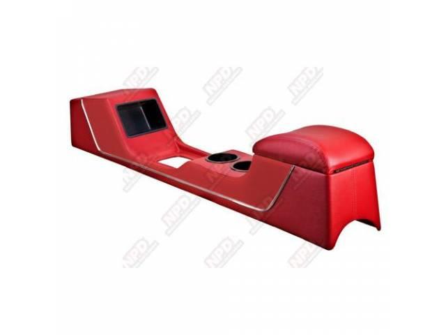 CONSOLE Full Length Sport II red vinyl Custom