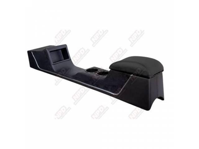 CONSOLE Sport R black matte vinyl w/ black