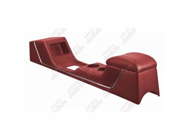 CONSOLE Sport Deluxe bright red vinyl custom full