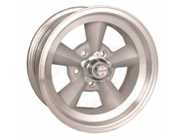 WHEEL TORQ-THRUST ORIGINAL NATURAL ALLOY RIM LIGHT MAGNESIUM