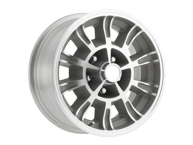 WHEEL, Billet 10 Spoke 66 Shelby, Legendary Wheel