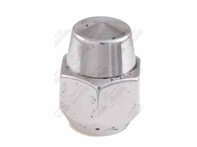 LUG NUT WHEEL STUD CHROME SEE 1012-2 FOR
