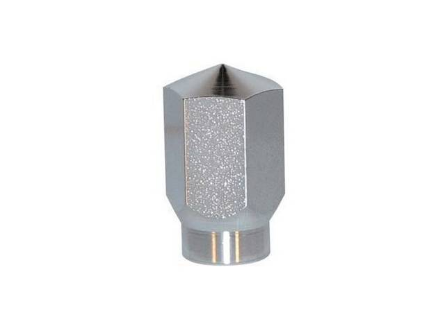LUG NUT, CHROME, 3/4 INCH HEX, TAPERED SEAT,