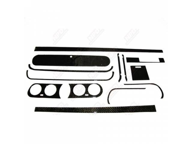 DASH KIT, CARBON FIBER