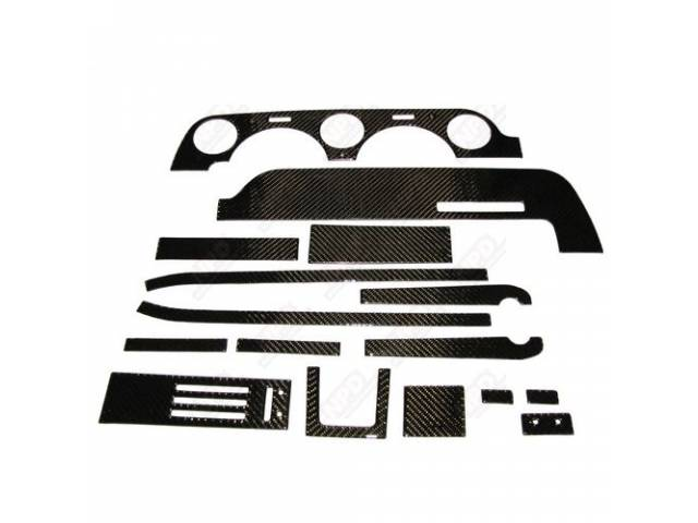 DASH KIT CARBON FIBER