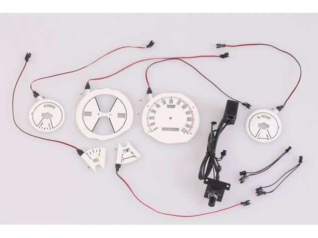 ELECTRO LUMINESCENT GAUGE CONVERSION, Custom kit converts your