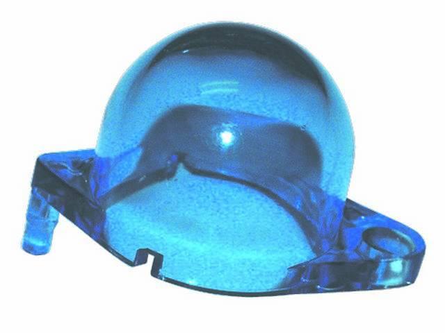 LIGHT FILTER, DASH HOUSING, ORIGINAL BLUE, FOR INSTRUMENT