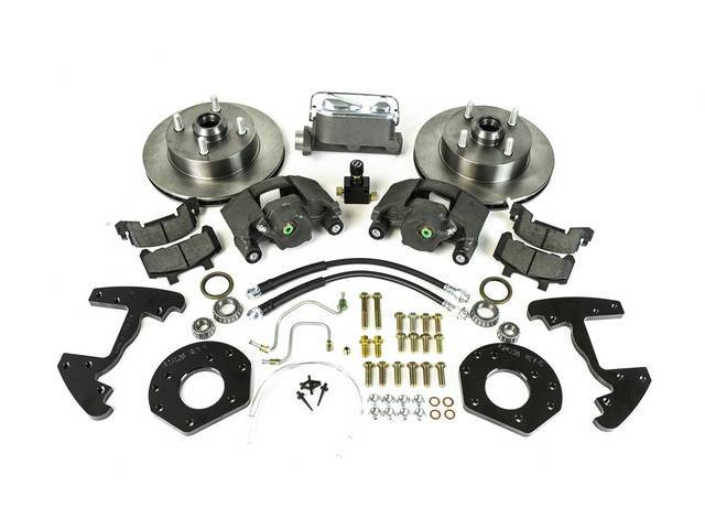 DISC BRAKE CONVERSION KIT FRONT 4 LUG single