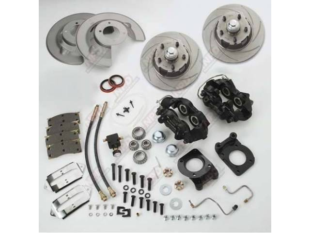 SSBC DISC BRAKE CONVERSION KIT, FRONT, DRUM TO