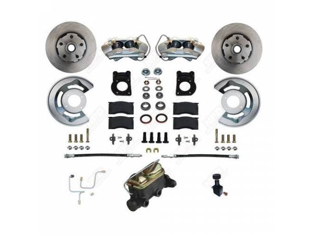 DISC BRAKE CONVERSION KIT STREET BANDIT FRONT DRUM