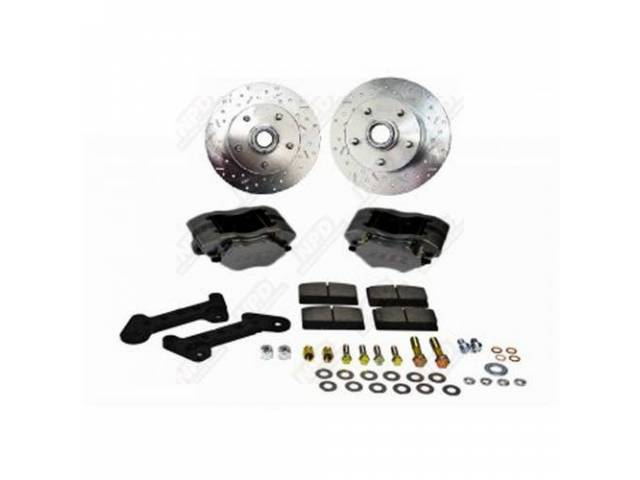 DISC BRAKE CONVERSION KIT Comp S black powder
