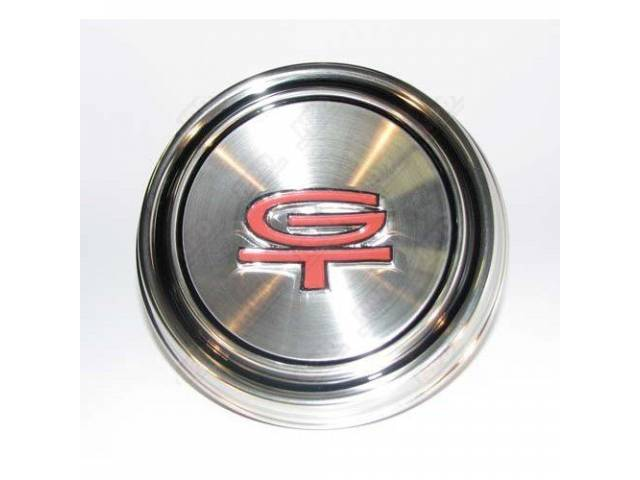 CENTER CAP, STYLED STEEL WHEEL,*GT*