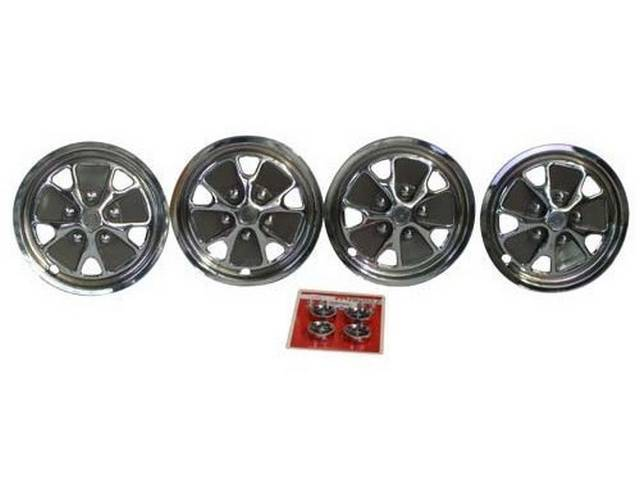 WHEEL COVER SET, STYLED STEEL WHEEL