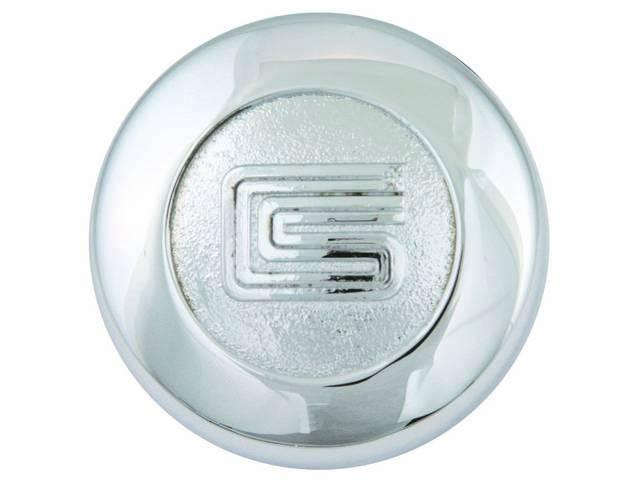 CENTER CAP SHELBY CRAGER WHEEL CONCOURS CORRECT - #1130-40A ...