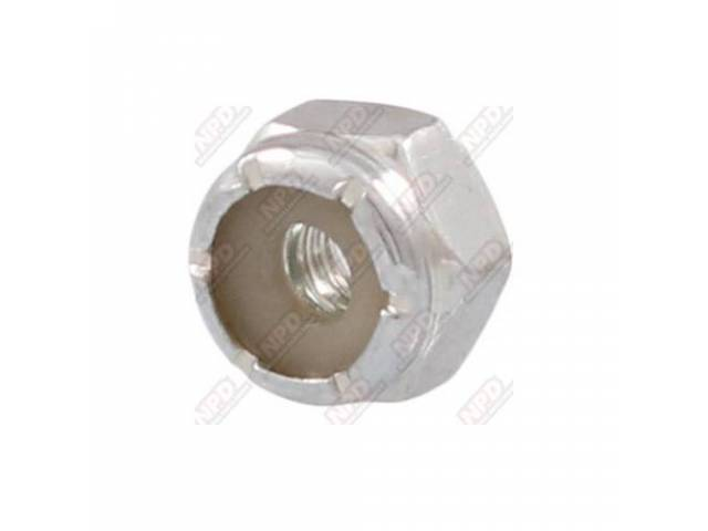 Nut Nylon Locking 8-32 Zinc Finish Grade 2