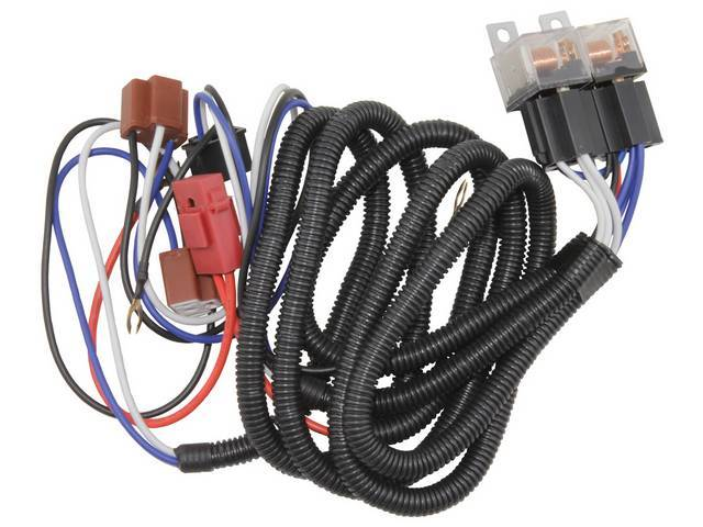 HEADLIGHT HARNESS EXTENSION, Custom Relay Style, Use with