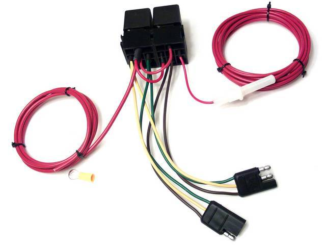 HEADLIGHT RELAY CONTROLLER, Windshield Wiper Activated,  US-made,